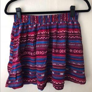 Forever 21 Exotic Print Skirt